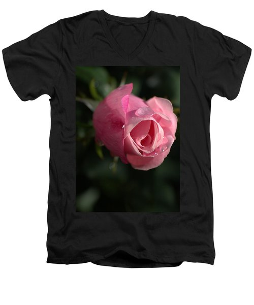 Water And Rose Men's V-Neck T-Shirt