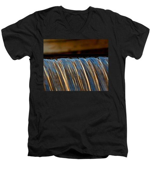 Water Falls Edge 3 Men's V-Neck T-Shirt