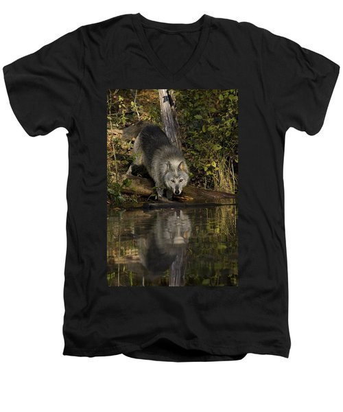 Water Hole Men's V-Neck T-Shirt