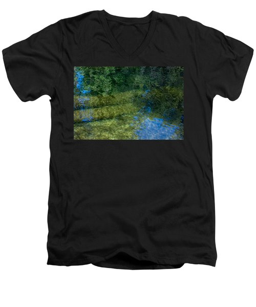 Water Reflections Men's V-Neck T-Shirt