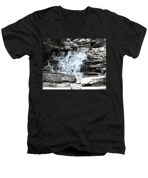 Waterfall 3 Men's V-Neck T-Shirt