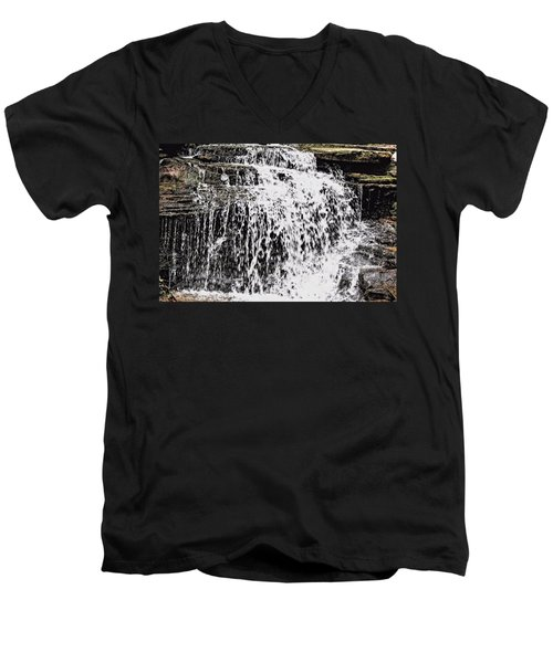 Waterfall 4 Men's V-Neck T-Shirt
