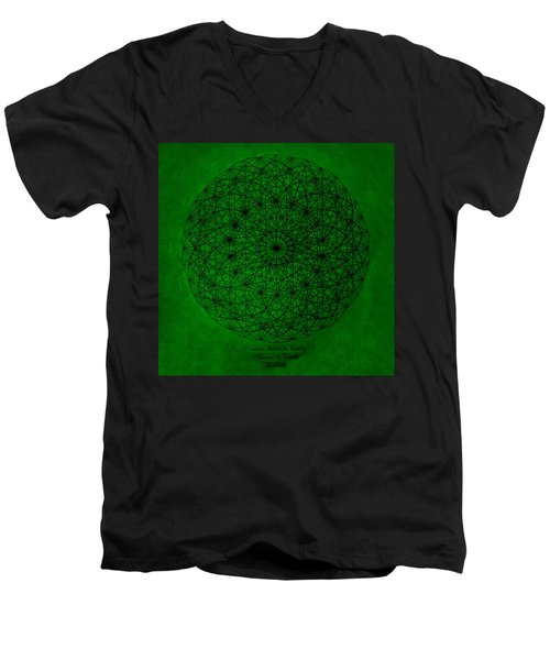 Wave Particle Duality Men's V-Neck T-Shirt