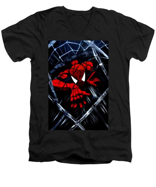 Web Crawler Men's V-Neck T-Shirt