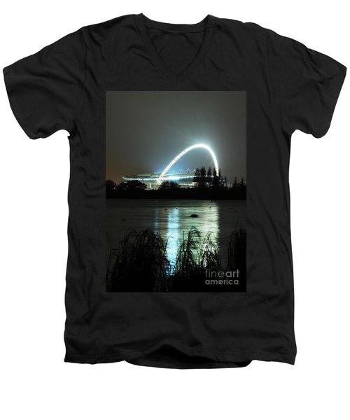 Wembley London Men's V-Neck T-Shirt