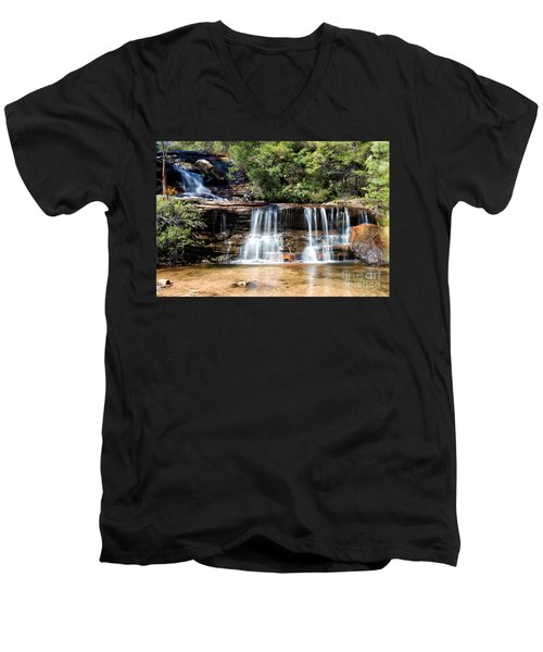 Wentworth Falls Men's V-Neck T-Shirt