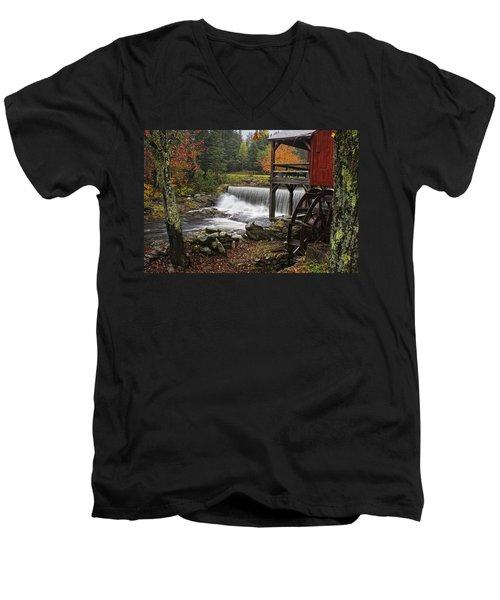 Weston Grist Mill Men's V-Neck T-Shirt