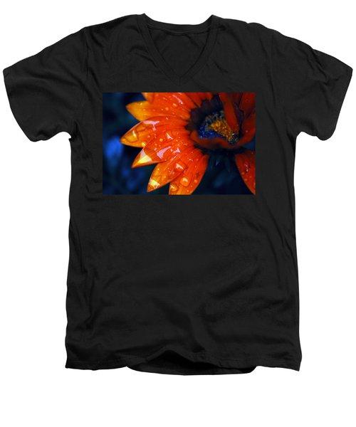 Wet Petals Men's V-Neck T-Shirt