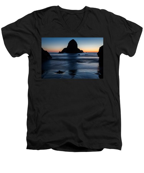 Whaleshead Beach Sunset Men's V-Neck T-Shirt