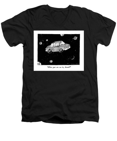 What Gear Men's V-Neck T-Shirt