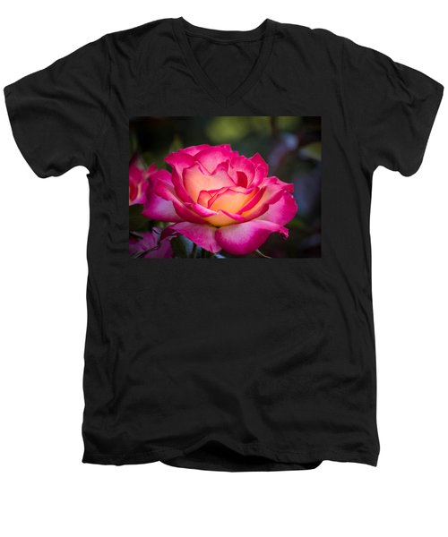 Men's V-Neck T-Shirt featuring the photograph When It's Love by Patricia Babbitt