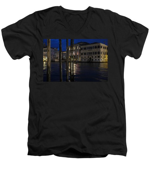 Where Time Stands Still Men's V-Neck T-Shirt