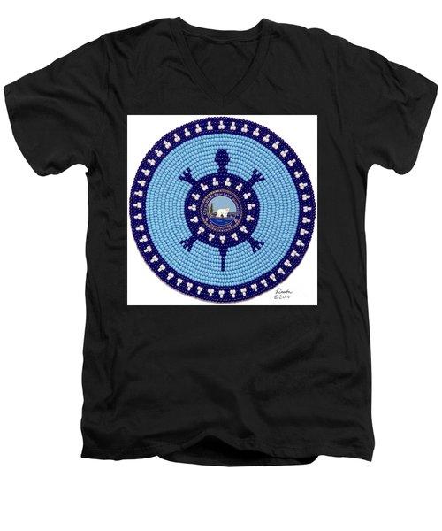 White Bear Lake Men's V-Neck T-Shirt