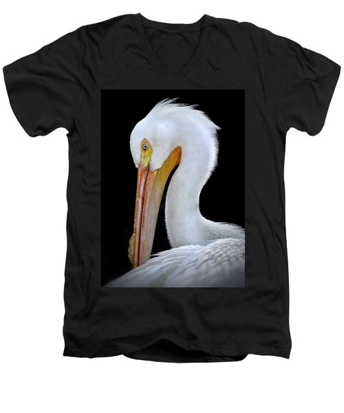 White Pelican Men's V-Neck T-Shirt