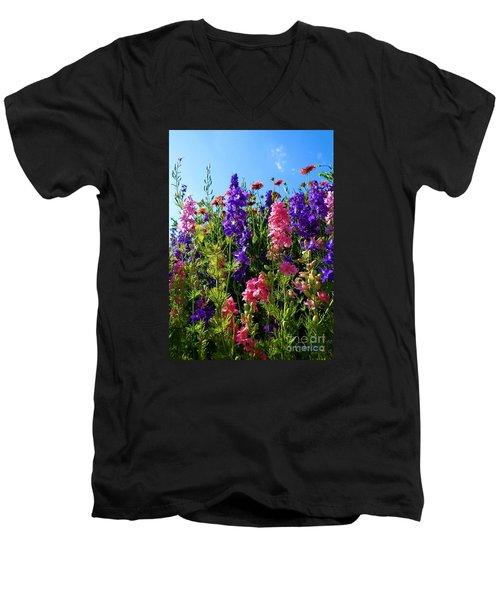 Wildflowers #14 Men's V-Neck T-Shirt