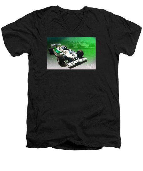 Williams Fw07 04 Men's V-Neck T-Shirt
