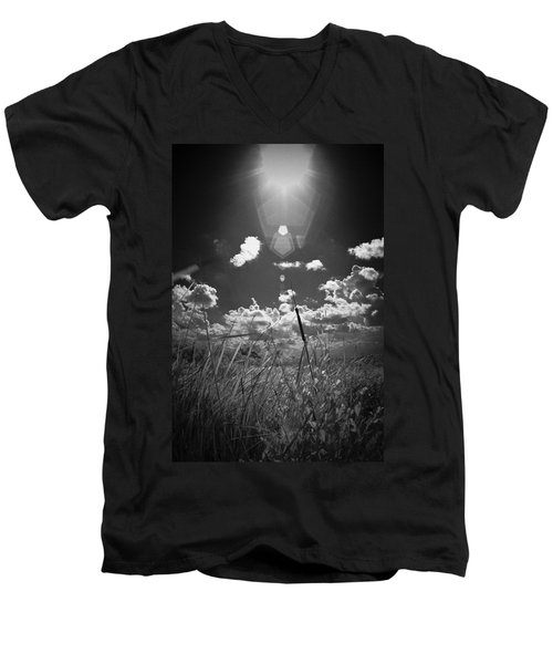 Men's V-Neck T-Shirt featuring the photograph Willow by Bradley R Youngberg