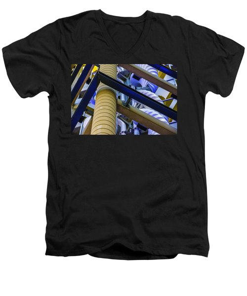 Wind Abstract No.1 Men's V-Neck T-Shirt