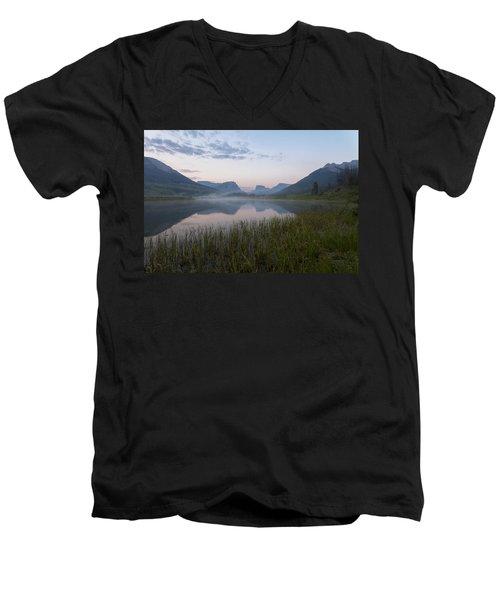 Wind River Morning Men's V-Neck T-Shirt