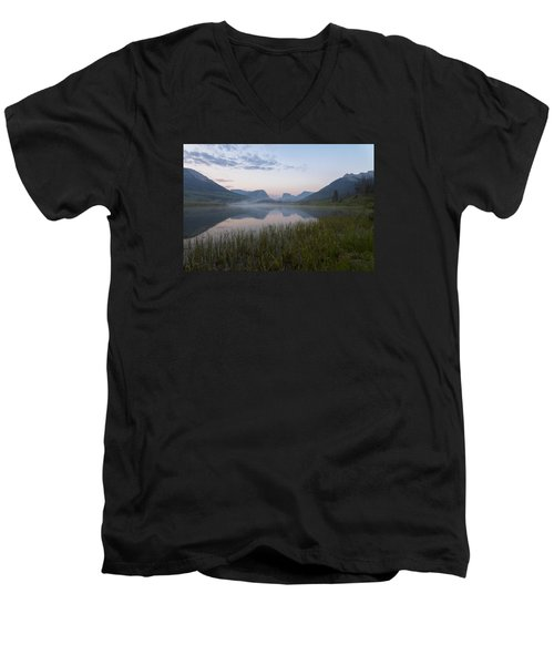 Wind River Morning Men's V-Neck T-Shirt
