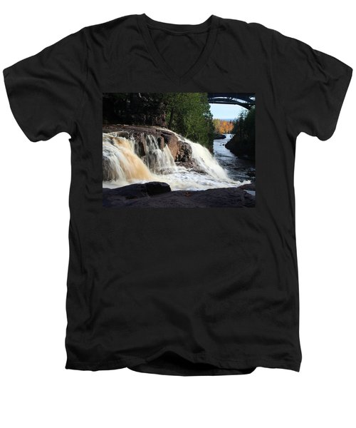 Winding Falls Men's V-Neck T-Shirt