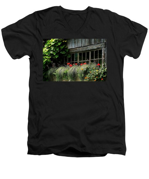 Window Boxes Men's V-Neck T-Shirt