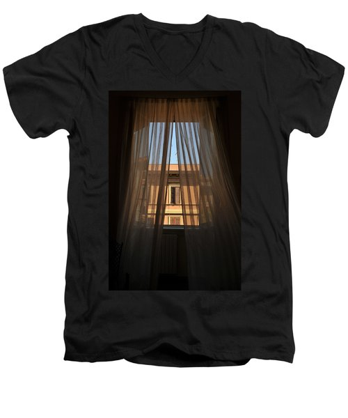 Window On Rome Men's V-Neck T-Shirt