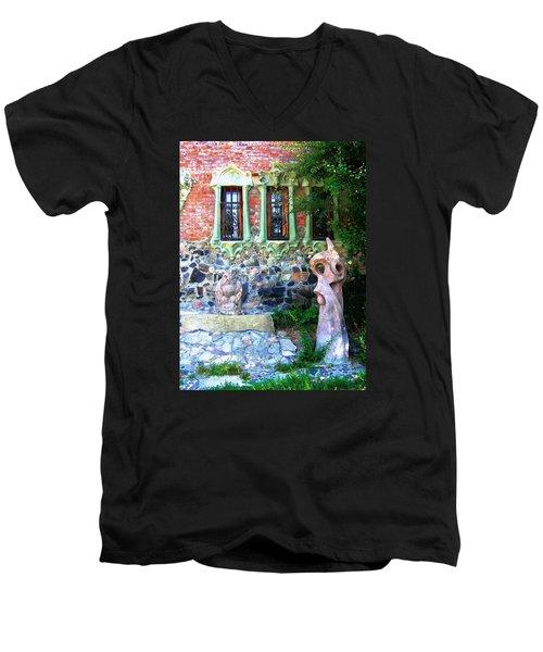 Windows Men's V-Neck T-Shirt by Oleg Zavarzin