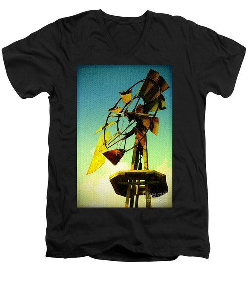 Winds Of Change Men's V-Neck T-Shirt