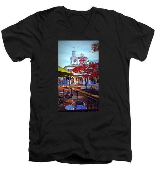 Historic 3 Men's V-Neck T-Shirt