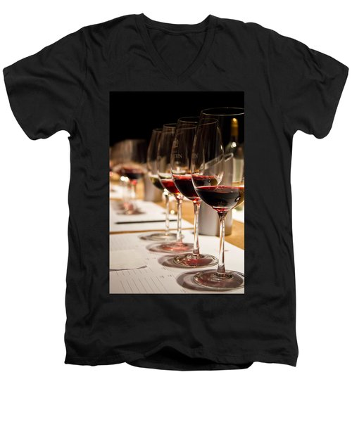 Wine Tasting Men's V-Neck T-Shirt