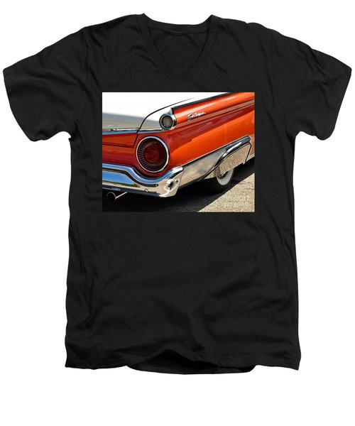 Wing And A Skirt - 1959 Ford Men's V-Neck T-Shirt