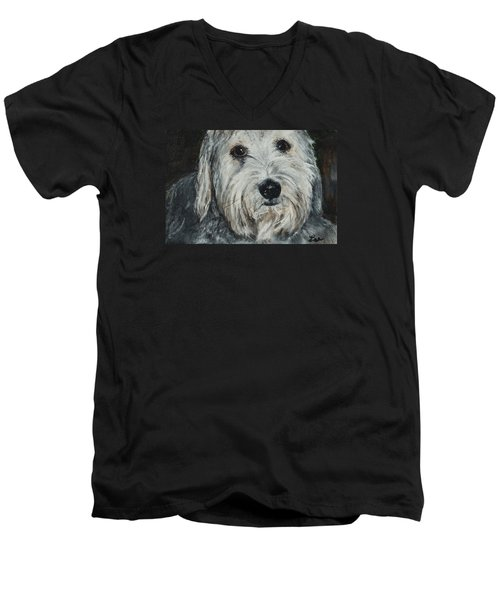 Winston Men's V-Neck T-Shirt by Lee Beuther