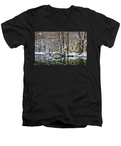 Winter Wonderland Men's V-Neck T-Shirt