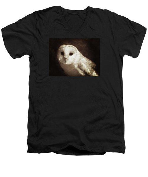 Wisdom Of An Owl Men's V-Neck T-Shirt