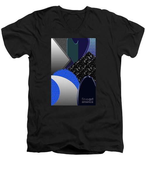 Men's V-Neck T-Shirt featuring the photograph Wise Bestowment by Tina M Wenger