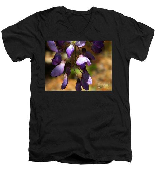 Wisteria 2 Men's V-Neck T-Shirt
