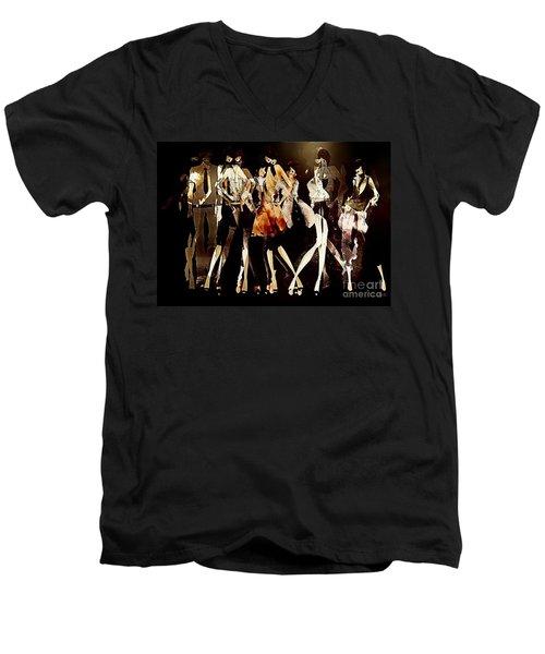 Women 496-11-13 Marucii Men's V-Neck T-Shirt
