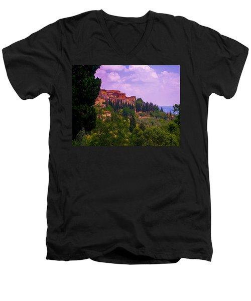 Wonderful Tuscany Men's V-Neck T-Shirt
