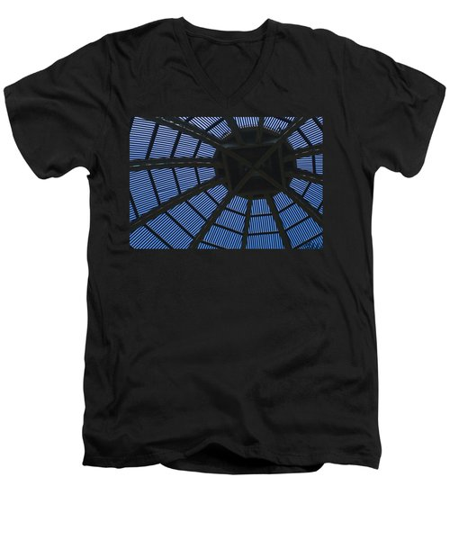 Wooden Dome Men's V-Neck T-Shirt