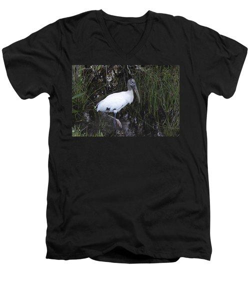 Woodstork Men's V-Neck T-Shirt