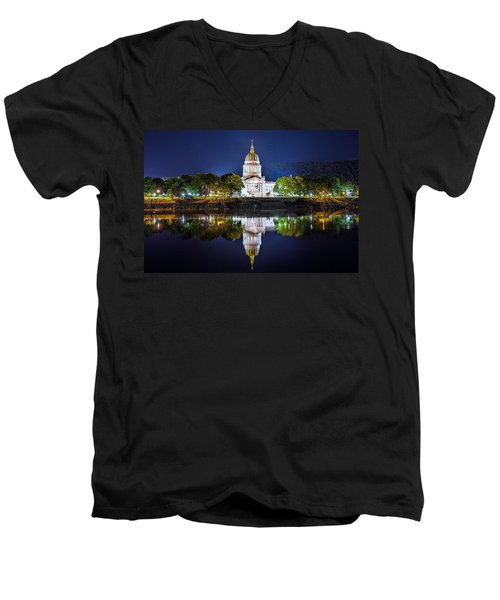 Wv Capitol Men's V-Neck T-Shirt