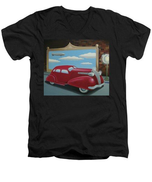Wyandotte Lasalle Men's V-Neck T-Shirt by Stuart Swartz