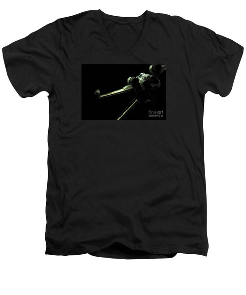 X-wing Fighter Men's V-Neck T-Shirt by Micah May