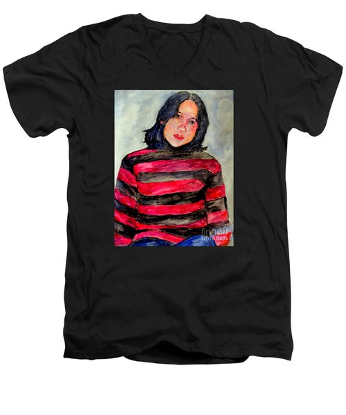 Yanti P Men's V-Neck T-Shirt