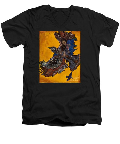 Yellow Crow Men's V-Neck T-Shirt