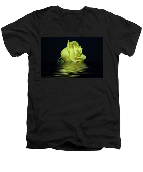 Yellow Rose II Men's V-Neck T-Shirt
