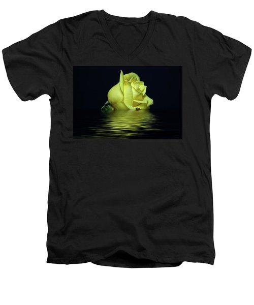 Yellow Rose II Men's V-Neck T-Shirt