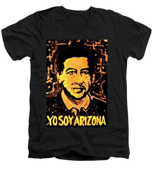 Yo Soy Arizona Men's V-Neck T-Shirt