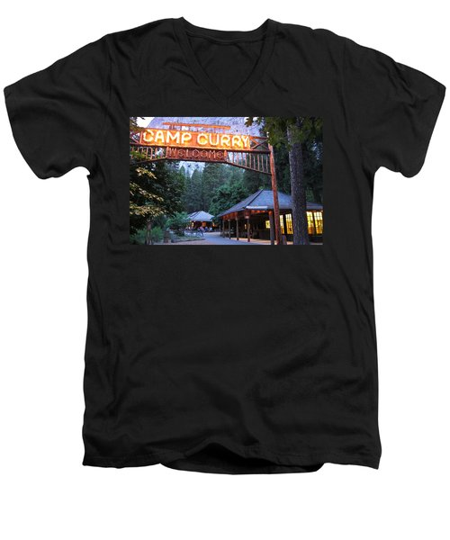 Yosemite Curry Village Men's V-Neck T-Shirt